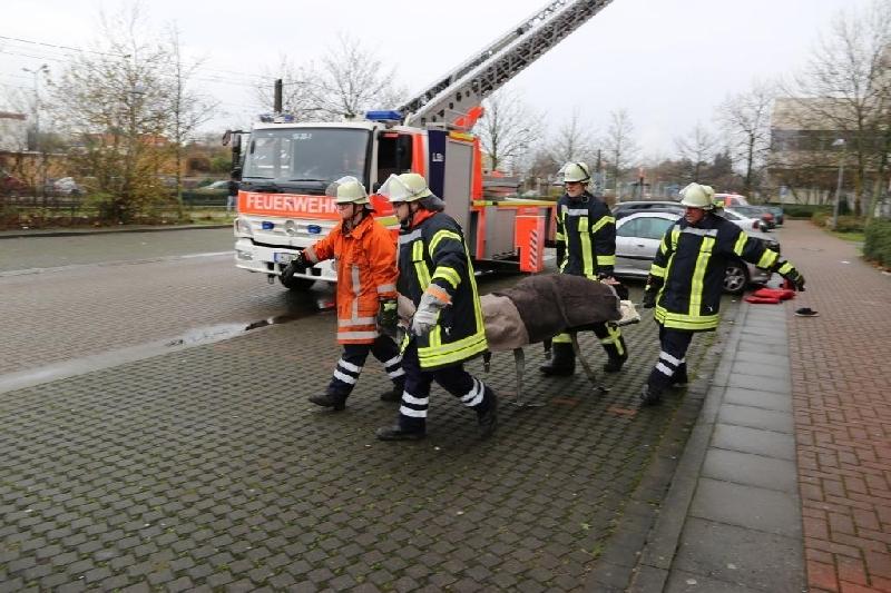 ob - ausgelöste Brandmeldeanlage